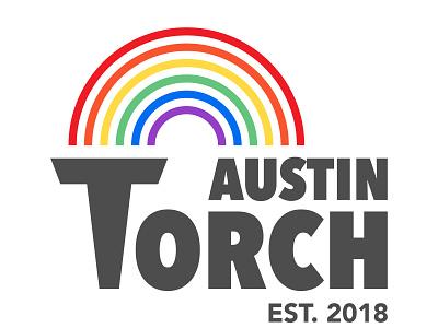 Torch Pride texas austin pride logo