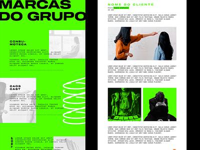 Consumoteca Group ux  ui ui  ux redesign homepage ux interface webdesign web interface design ui layout design