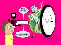 Rick Crashes Dribbble Hang Time!