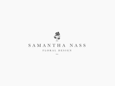 Samantha Nass Floral Design - logo