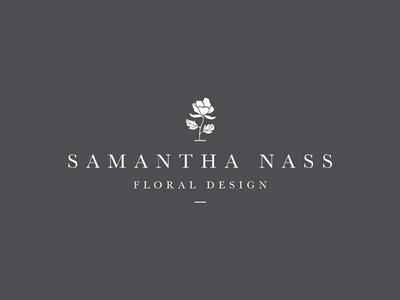 Samantha Nass Floral Design - branding