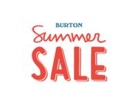 Burton Snowboards Summer Sale