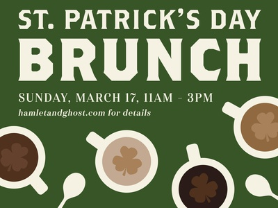 St. Patrick's Day Brunch