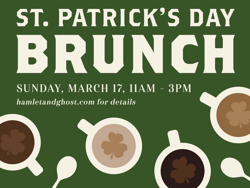St. Patrick's Day Brunch coffee brunch st patricks day