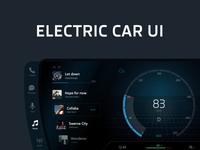 Electric Car UI