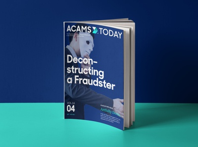ACAMS Today Rebrand design branding and identity logo magazine cover editorial print rebranding rebrand magazine