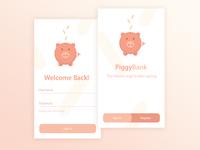PiggyBank Concept App