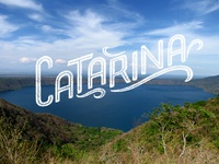 Catarina Lettering