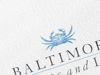 The Blue Crabs of Baltimore