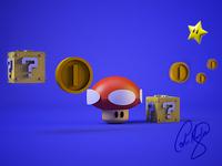 Mario Element Game