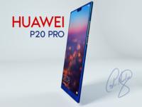 Phone Huawei p20 pro C4D