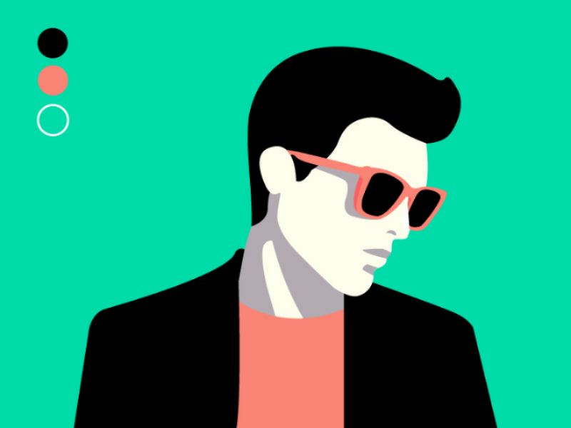 9a291c5a Man fashion vector fashion men website vector illustrator