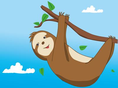 Lazy bears tropical style