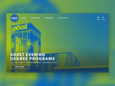 Nossi College of Art Website