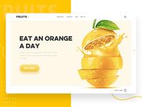 Fruit web page