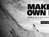 Sneak Peek of a new Oakley.com Homepage