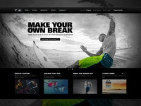 It's Alive!! New Oakley Surf Homepage