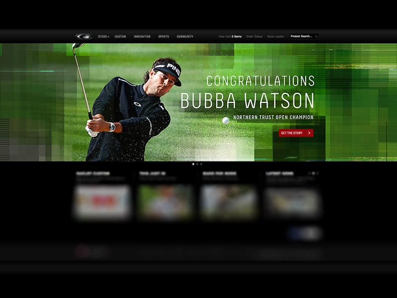 Bubba Watson Oakley Homepage bubba watson oakley homepage golf