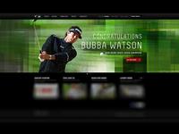 Bubba Watson Oakley Homepage