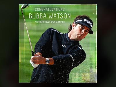Bubba Watson Social Promo