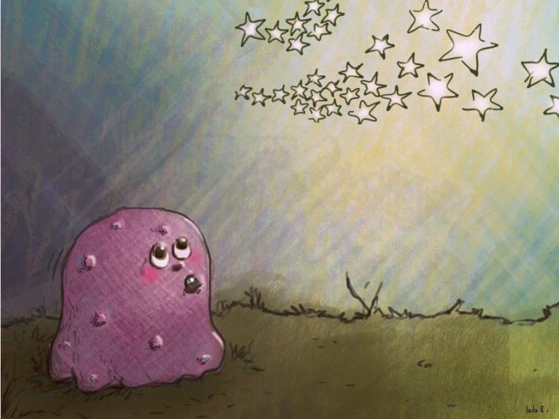 Ghost among Stars yellow digital painting publishing childrenbook illustrations colour print photoshop inspiration concept design illustration