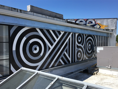 Oxbow Type Mural