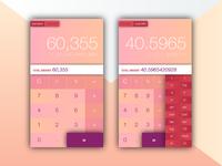 Scientific Calculator UI Design
