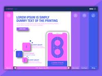 Webpage layout idea