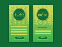 Bubble App UI