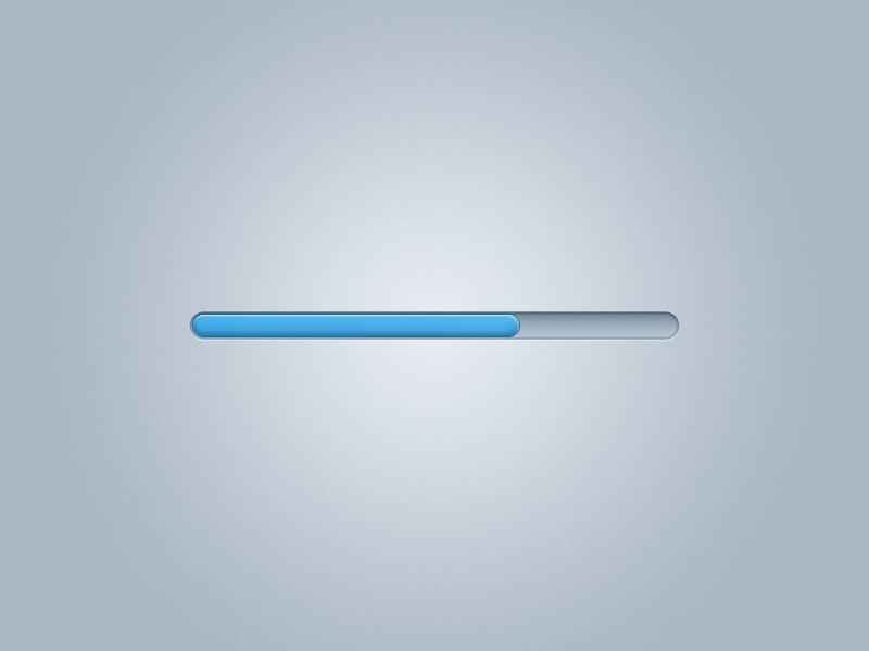 Loading bar PSD free psd loading