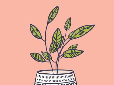 PLANT women plant-based illustration art design plant based illustration plant