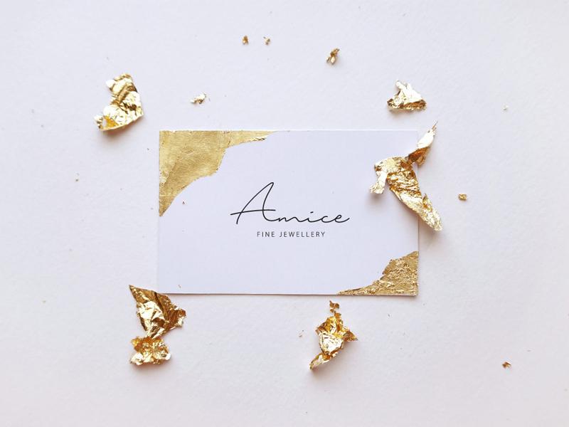 Amice busines card branding original craft design identity idea