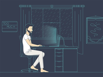 Life of a Creative: Home Illustration