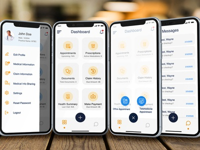 PHR App uxdesigner uidesigner uxdesign uidesign uiux ui ios app designer ios app design app design icon ui web ios guide healthcare app healthcare healthapp health apple design application design apple app designers app designer app design app