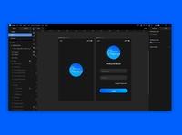 App Design on Lunacy