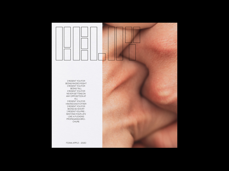 Album cover 300420 hands relay fiona apple music artwork music cover album cover music paper photography editorial grid type print layout typography