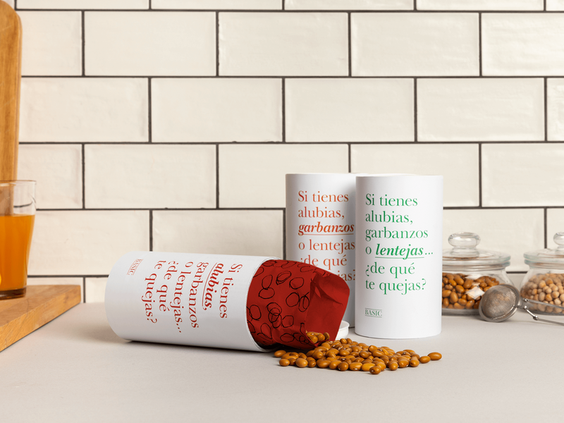 Bean Packaging type print plant based food graphic design packagingdesign typography grid layout food photography food packaging legumes beans packaging