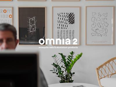 Omnia 2 — logotype office design photography workdmark typography logotype design branding design branding brand identity identity logotype