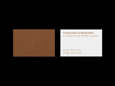 Business cards by gemma estadella colom dribbble business cards for an art conservator restorer specialized in wood ive worked with the materials and finishes to establish a connection with the concept colourmoves