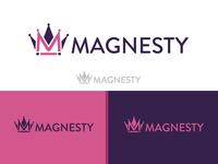 Magnesty Logo and Packaging Design