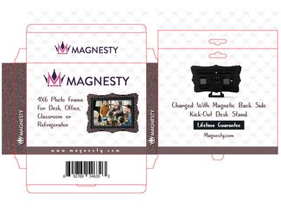 Magnesty Box Packaging Design family frame family photo box art branding alvistudio box packaging package design label design majesty magnet frame table frame wall frame frame box