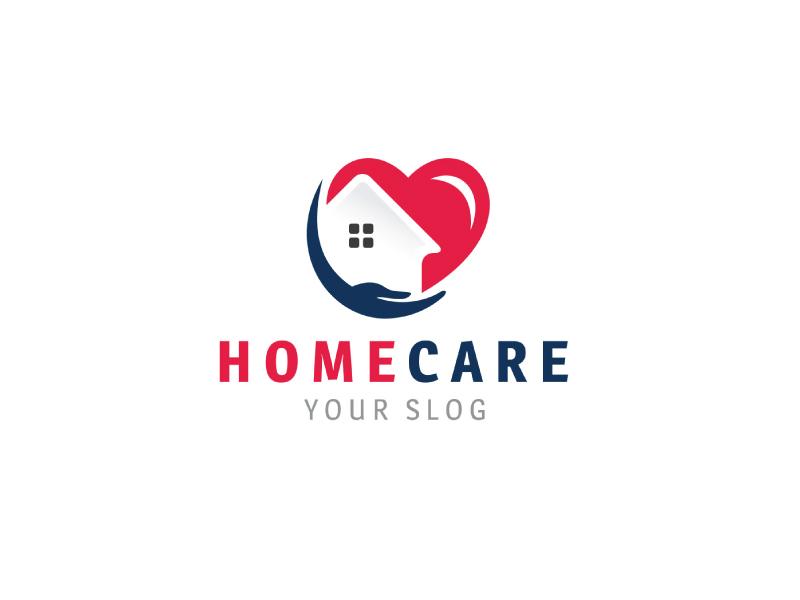 Home Care Logo Template By Ahsan Alvi On Dribbble