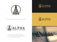Alpha Logo Design