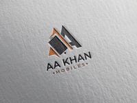 AA Khan Mobiles Logo