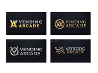 Vending Arcade logo concepts