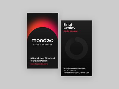 Mondeo Studio Meeting Cards designers web webdesign uxui uiux ux ui graphics design print art cards businesscards meetingcards studio mondeostudio mondeo