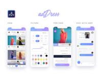 adDress - fashion social app