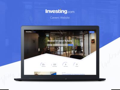 Investing.com Website Design