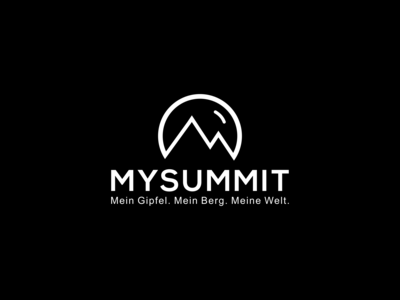 minimalist mountain logo