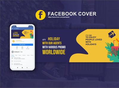 Facebook Cover Design For Travel Agent